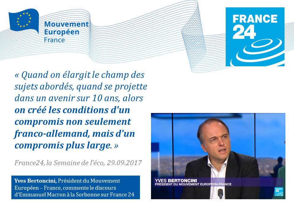 Yves Bertoncini France 24