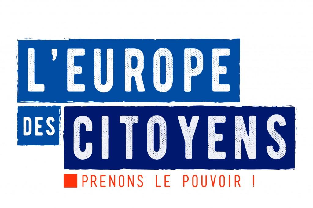 Logo l'Europe des citoyens