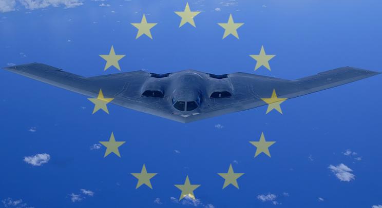 Avion de chasse européen