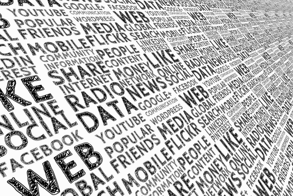 Nuage de mots sur le numérique