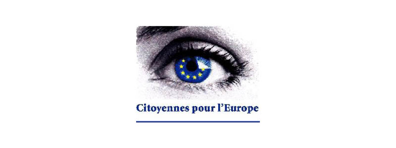 Logo Citoyennes pour l'Europe