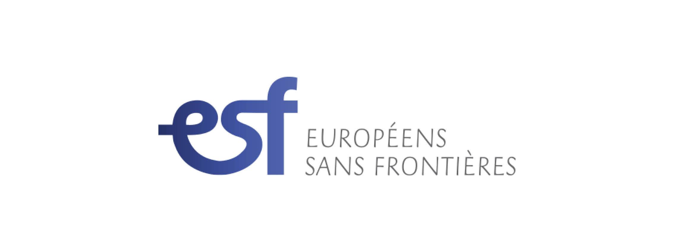 Logo Européens Sans Frontières