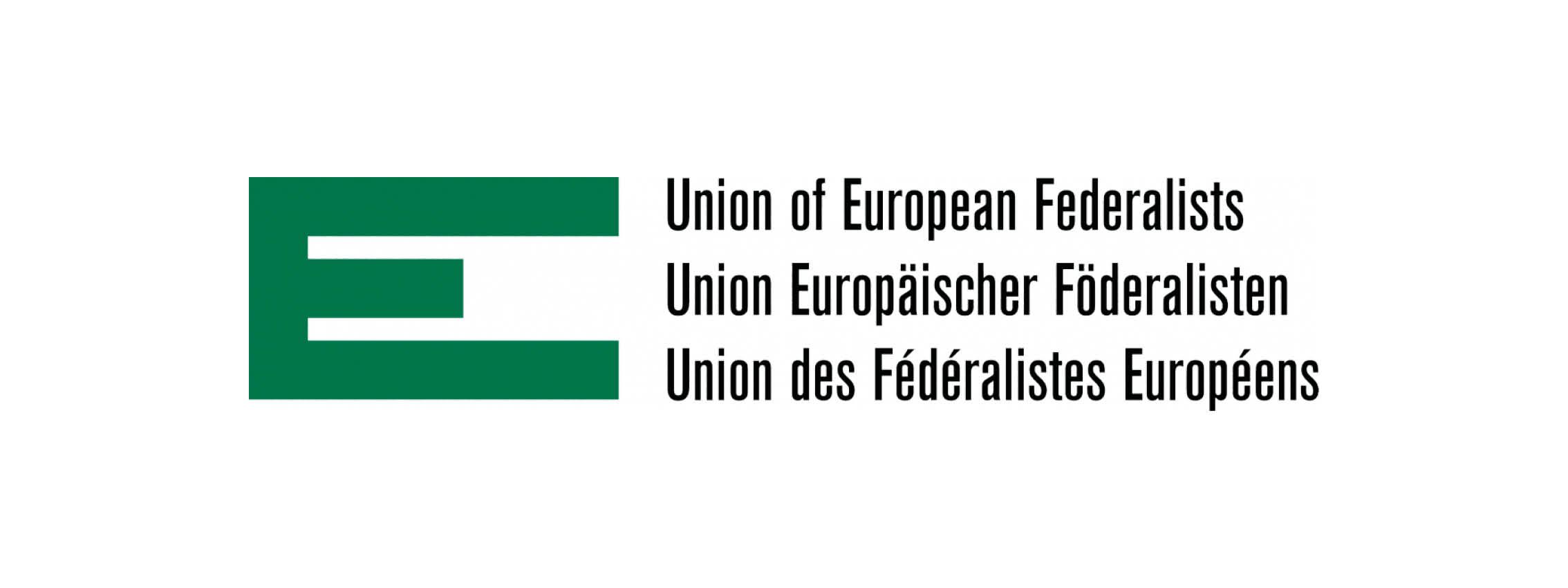 Logo Union des Fédéralistes Européens – France