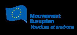 Logo du Mouvement Européen - Vaucluse et environs