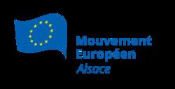 Logo du Mouvement Européen - Alsace