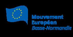 Logo Mouvement Européen - Basse-Normandie