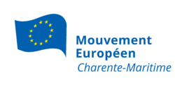 Logo du Mouvement Européen - Charente-Maritime