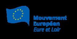 Logo du Mouvement Européen - Eure-et-Loir