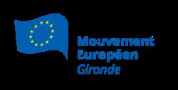 Logo du Mouvement Européen - Gironde