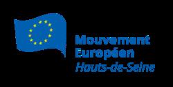 Logo du Mouvement Européen - Hauts-de-Seine