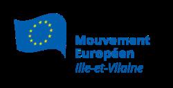 Logo du Mouvement Européen - Ille-et-Vilaine