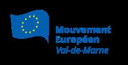 Logo du Mouvement Européen - Val-de-Marne