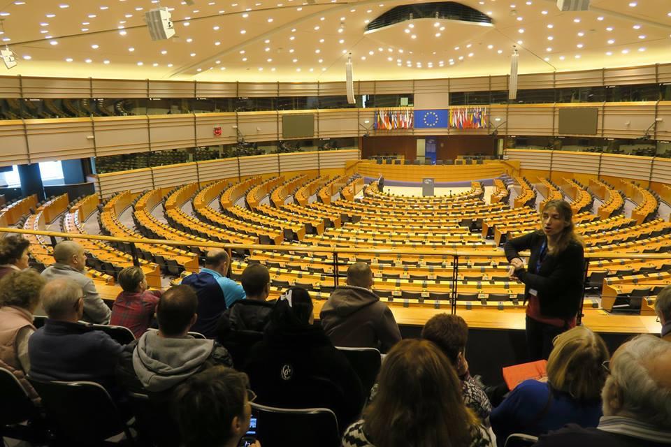 Visite du Parlement européen par ME-Pas-de-Calais
