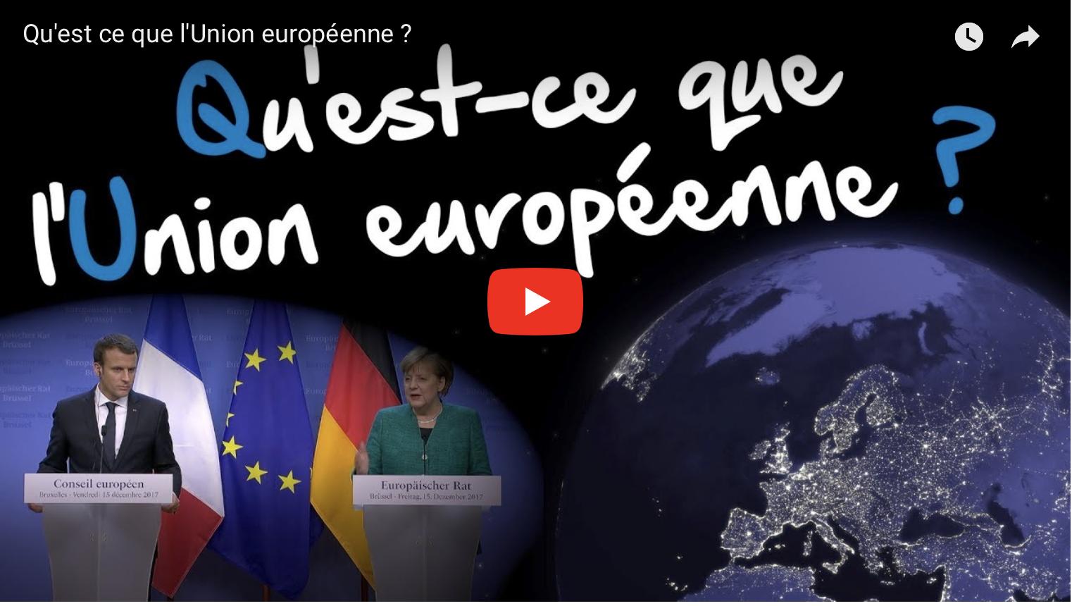 Capture d'écran video Toute l'Europe