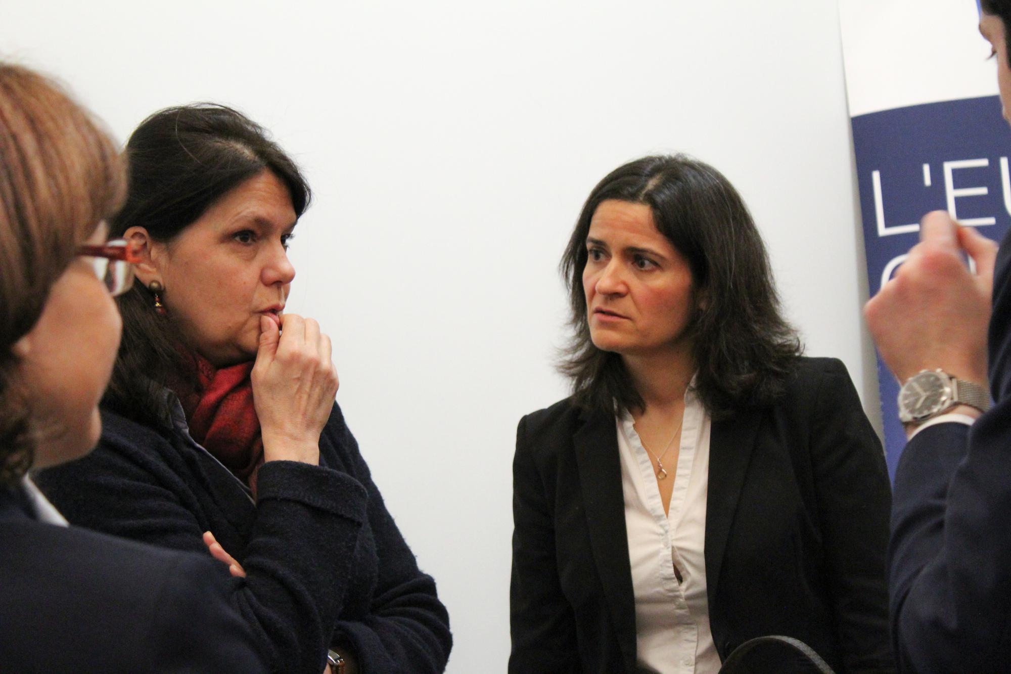 Marie de Saint-Chéron, Directrice des Affaires Européennes et Multilatérales et Marie DANCER, Journaliste chargée de l'actualité́ économique européenne et française au journal La Croix
